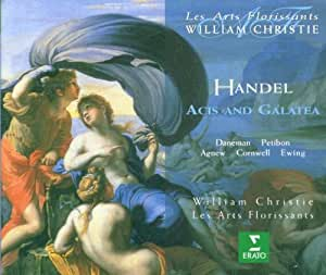 Händel - Acis and Galatea / Daneman, Petibon, Agnew, Cornwell, Ewing, Les Arts Florissants, Christie