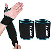 EULANT Handgelenk-Bandage, 2 Stück Sport Armbänder Handgelenkbandage Handgelenkstütze Wraps Hand Sprain Recovery-Armband... preisvergleich bei billige-tabletten.eu
