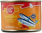 #8: Golden Prize Canned Sardine in Natural Oil with Chili, 200g