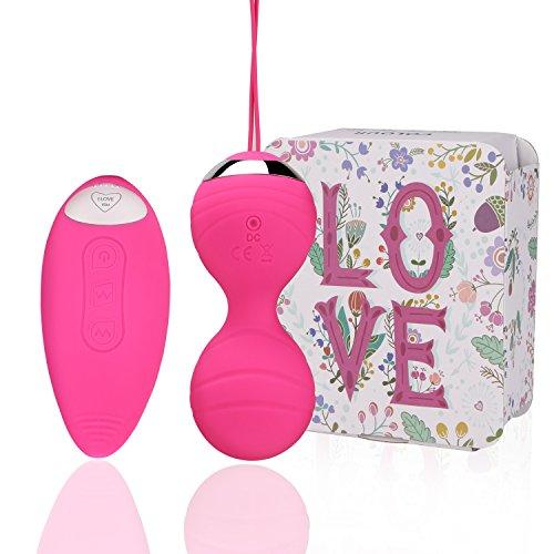 Liebeskugeln mit Vibration Bullet-Vibratoren drahtlose Fernbedienung Adult Sexspielzeug Vibrator...