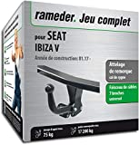 Rameder Attelage démontable avec Outil pour Seat Ibiza V + Faisceau 7 Broches...