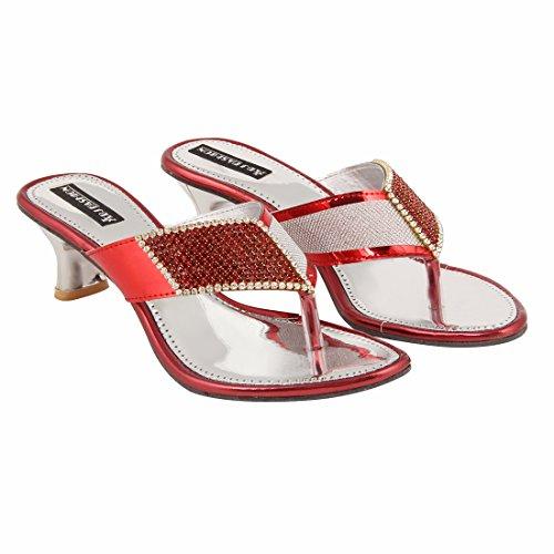 ABJ Fashion Women's Casual Kitten Heel