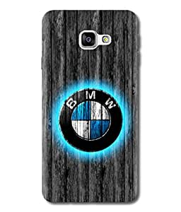 Samsung Galaxy ON 7(2016) BMW logo Design Printed Back Cover Hybrid Strong Polycarbonate Hard Case Cover With Premium Quality and Matte Finish by Print Vale(Call/Whatsapp:-8641922333 If facing any problem)