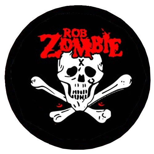 Rob Zombie - Backpatch Death Bat (in 23,5 cm x 20 cm)