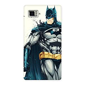 Gorgeous Knight Hunt Multicolor Back Case Cover for Vibe Z2 Pro K920