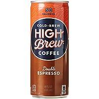 High Brew - Kalt-Brauen Sie Kaffeedoppelten Espresso - 8 Unze.