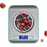 Digitale Küchenwaage, Ashleyoo Küchenwaage Electronische Waage, Briefwaage, Digitalwaage Professionelle Waage, Hohe Präzision auf bis zu 1g (5kg Maximalgewicht), Tara-Funktion, LCD-Display