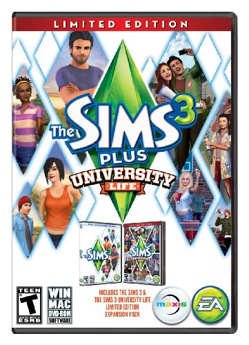 THE SIMS 3 + UNIVERSITY LIFE Expansion Pack