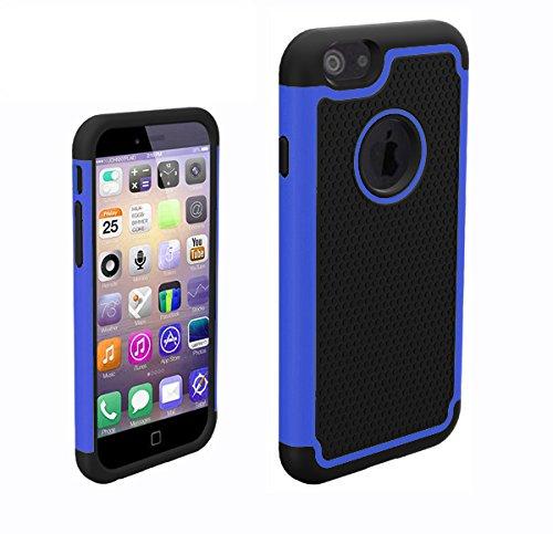 Monkey cases ® iPhone 6-football'en tPU pour iPhone 6-bleu pour téléphone portable produit neuf sous emballage d'origine-bleu