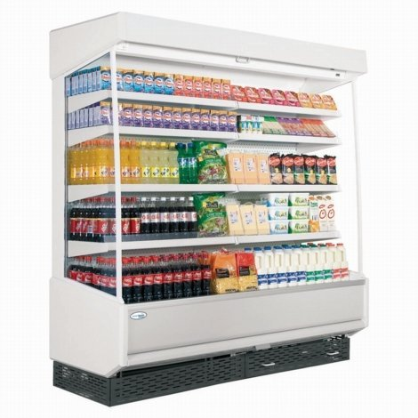 Interlevin RC II fascia Scomparto multiplo Refrigerati Display con bianco
