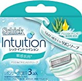 Shaving Japan Schick Intuition For Sensitive Skin - Blade 3 Pieces (Harajuku Culture Pack)