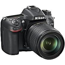 Nikon D7100 + Nikkor 18/105VR  Fotocamera Reflex Digitale, 24.1 Megapixel, LCD da 3 Pollici, ISO 6400, SD 8GB Premium Lexar 180X, Colore Nero [Nital card: 4 anni di garanzia]