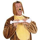 Hundeohren Haarreif Hunde Schlappohren Haarreifen Hund Ohren Kopfbügel Dog Plüschohren Hundekostüm Kopfbedeckung Fasching Tierkostüm Party Tierohren Tier Mottoparty Accessoire Karneval Kostüm Zubehör