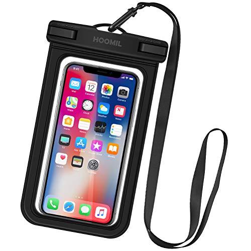HOOMIL wasserdichte Handyhülle, Universal Handy wasserdichte Hülle für iPhone XS Max/XR/8 Plus/Samsung Galaxy S10 Plus/S9/Huawei P30 Pro/P30 Lite und andere Smartphones