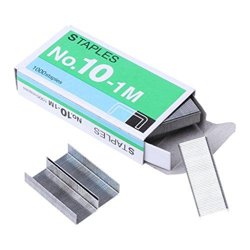 cancelleria Confezione da 1000 punti metallici resistenti 23//10 per cucitrice per ufficio scuola Roydoa