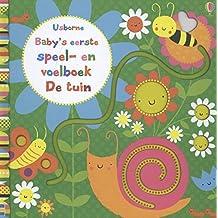 Baby's eerste speel en voelboek - de tuin