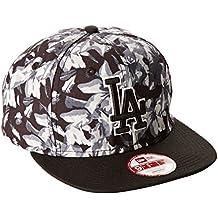 New Era Baseball Cap Mütze Mlb LA Dodgers Orchid Ao Print 9Fifty - Gorra para hombre, color Gris, talla M/L
