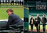 Baseball Analytics Double Feature: Moneyball & Trouble With The Curve 2 DVD Double Feature (Brad Pitt/Clint Eastwood)