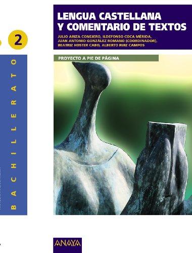 Lengua Castellana y Comentario de Texto 2 - 9788498772371
