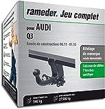 Rameder Attelage rotule démontable pour Audi Q3 + Faisceau 7 Broches...