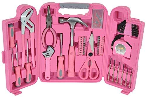werkzeugkoffer in pink mit werkzeug in pink originelle geschenkidee f r frauen schwester mama. Black Bedroom Furniture Sets. Home Design Ideas