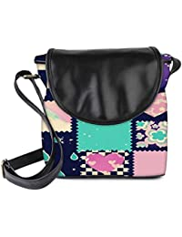 Snoogg Abstract Cute Womens Sling Bag Small Size Tote Bag