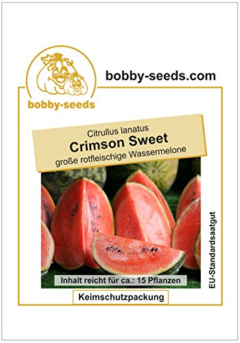Bobby-Seeds Melonen Samen Crimson Sweet – Wassermelone Portion