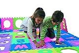 Playshoes 308738 EVA-Puzzlematten, Puzzleteppich, Bodenpuzzle 36-teilig, 3,25 m Gesamtflche, Dicke:1cm10 -