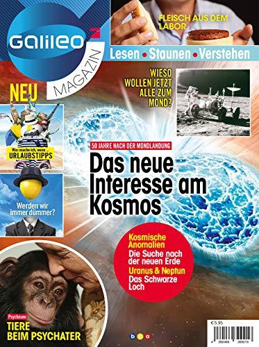 Galileo Magazin: Das neue Interesse am Kosmos (Häkeln Logo)