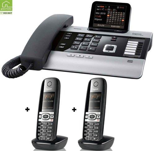 Siemens Gigaset DX600A mit 2 x C610H Mobilteil ISDN Anrufbeantworter