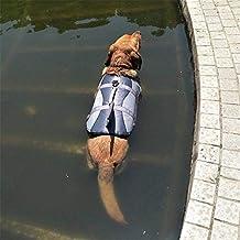 OOFAYWFD Perro Life Jacket Gran Mascota Flotador Abrigo Perros Salvavidas Chaleco De Seguridad Tiburón Tamaño S M L