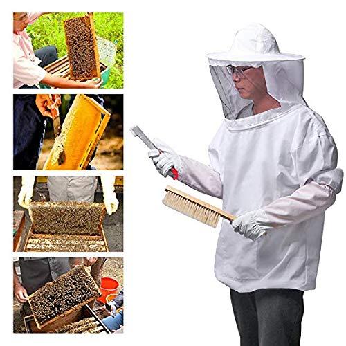 Acacia Bird Bienenschutzanzug Imkeranzug-Werkzeugset, Imker-Imkermantel (Starter Kit Bee Farm)