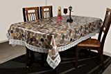 #3: STITCHNEST - Table Cover Anti Skid, PVC, 4 Seater, Multicolor, Pack of 1