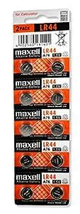 MAXELL LR44 (AG13) BATTERIES 10 pcs