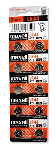 Maxell - LR44 1,5V / 10 unidades
