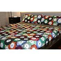 Juego de sábanas estampado (VINIL, para cama de 150x190/200)