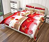 Just Linen 200 Thread Count Floral Strip...