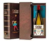 CAMINO DE CABRAS Estuche regalo - vino blanco - Albariño Rias Baixas - Producto Gourmet - caja de...