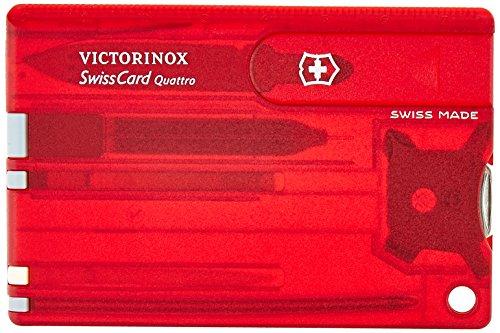 Victorinox Jelly Quattro Carte Suisse Rouge