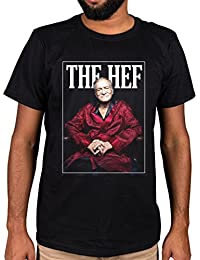 Ulterior Clothing The Hef Red Robe Graphic T-Shirt