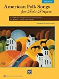 Best Alfred Publishing English Songs - American Folk Songs for Solo Singers: 13 Folk Review