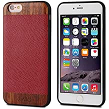 "iATO - Carcasa para iPhone, Red Lizard & Rose - iPhone 6/6S [4.7""] CHECK YOUR SIZE!!!, iPhone 6 / 6S"
