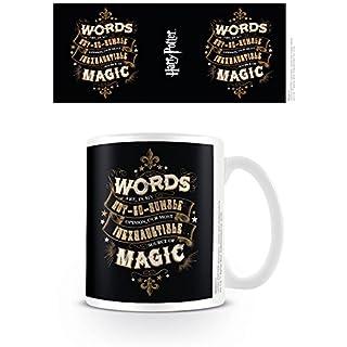 Harry Potter Worte Quelle der Magie Box Geschenkbecher Film offiziellen