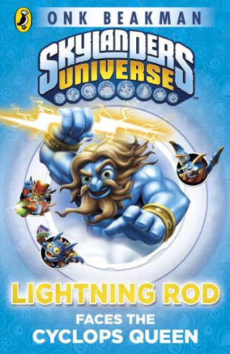 Skylanders Mask of Power: Lightning Rod Faces the Cyclops Queen: Book 3 (English Edition)