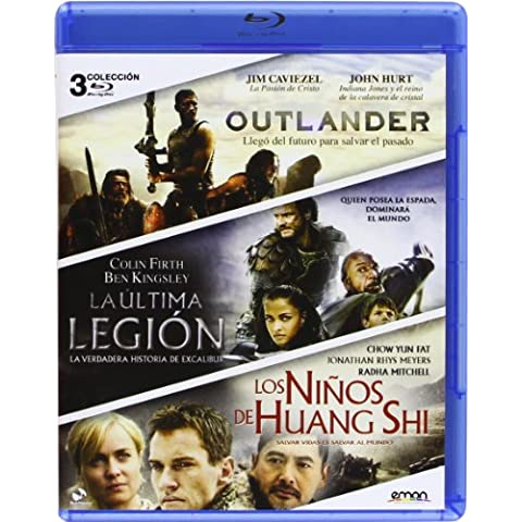 Pack: La Última Legión + Los Niños De Huang Shi + Outlander