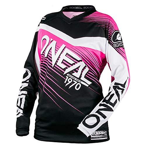 O'NEAL Element Racewear Damen FR Jersey Trikot lang schwarz/pink 2018 Oneal: Größe: M (48/50)
