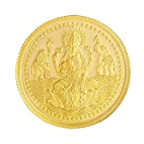 Malabar Gold & Diamonds BIS hallmarked 5 gm, 24KT (999) Yellow Gold Coin