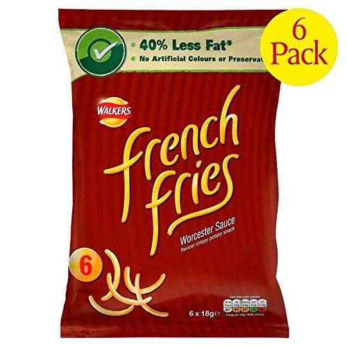 Französisch Frites Worcestersauce 19G X 6 Pro Packung - Packung mit 6