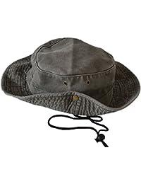Cappello a tesa larga unisex uomo donna Safari Outback Australian Style  100% cotone cad24dafbe6d