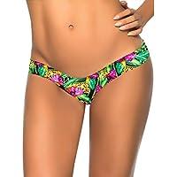Topmelon Sexy Lady Bikini brasiliano Bottoms V-Style foglio Cheeky intimo costumi da bagno